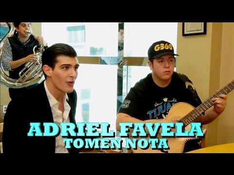 ADRIEL FAVELA - TOMEN NOTA (Versión Pepe's Office)