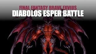 Final Fantasy Brave Exvius - Diabolos Esper Battle