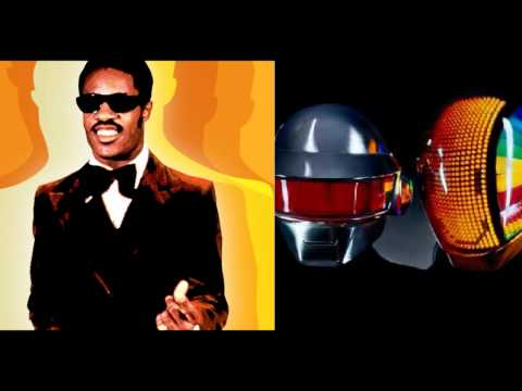 Daft Punk/Stevie Wonder - Stevie's Voyage (Mash-up)