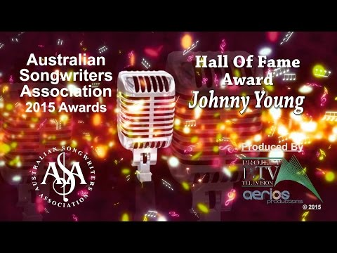 Johnny Young - 2015 Hall Of Fame Award