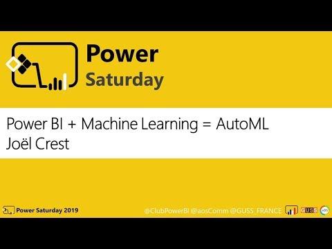 [Power Saturday 2019] - Power BI + IA = AutoML