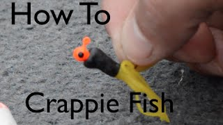 Crappie Fishing - How To Rig a TUBE!