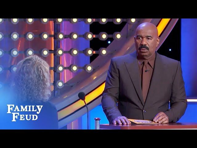 If this person looks sexy to you, you're drunk! | Family Feud