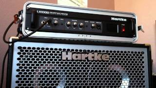 Hartke LH1000 and Hydrive 410