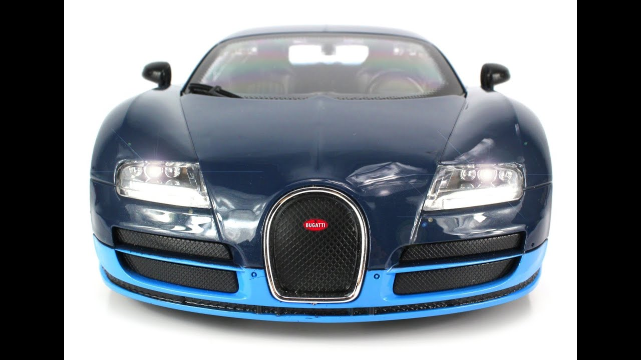 bugatti veyron 16 4 grand sport vitesse voiture t l command e lectrique chelle 1 16 youtube. Black Bedroom Furniture Sets. Home Design Ideas