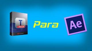 Como Instalar Trapcode Form/Particular Para After Effects