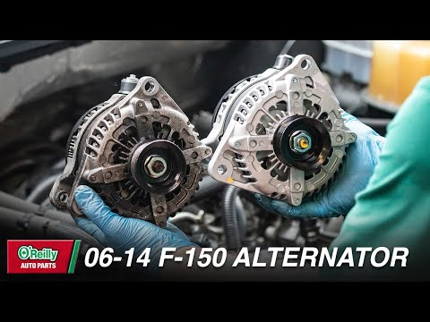How To: Replace the Alternator on a 2006-2014 Ford F-150