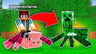 MISTURANDO MOBS NO MINECRAFT !! (Minecraft Polícia e Ladrão)