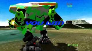 Virtual On Oratorio Tangram (Xbox 360) Arcade as Dordray