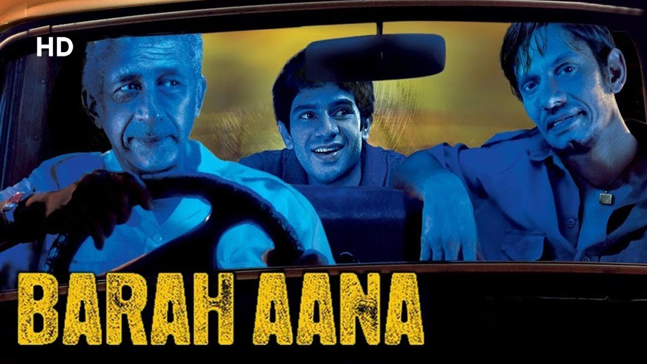 Barah Aana (2009) HD | Naseeruddin Shah | Vijay Raaz | Latest Comedy Movie