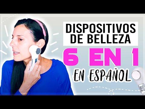 6 en 1 dispositivo de belleza | EN ESPAÑOL tutorial | #glow #RF #6in1