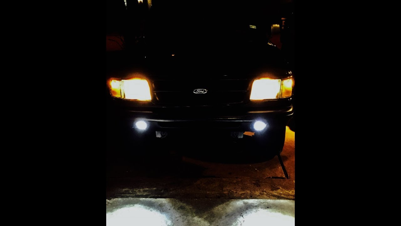 Ford Ranger: Let There Be Light PT.2 - Wiring Rigid Fog Lights to ...