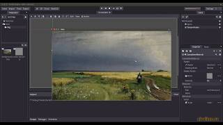 Godot Engine: 2D Rain Effect (Godot Fragment Shader)