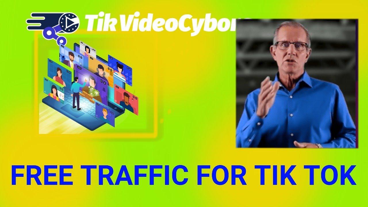 FREE TRAFFIC FOR TIK TOK (2020) TikVideoCyborg Review – Grow TikTok Traffic