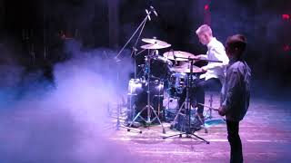 Drum show - Daniel 14 years and Ilya 9 years Varfolomeyev - Drum Solo