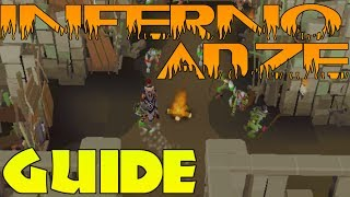 Inferno Adze Guide - All Fired Up Easy Method [Runescape 2014]