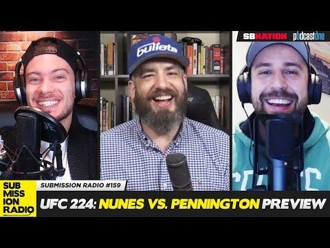 UFC 224: Nunes vs. Pennington PREVIEW - Kenny Florian, Luke Thomas, Fernanda Prates, Tommy Toe Hold