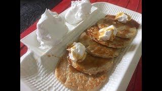 Eggless Pancake (with wheat flour)