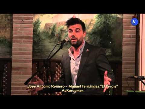 """Flamenco:Jose A Romero y Manuel Fdez """"El Peroles"""" por Solea #Carmona XXXII Concurso Nacional Cante"""