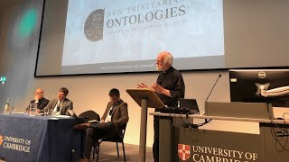 New Trinitarian Ontologies Conference - Welcome & Panel 5: Metaphysics: Being, Essence, & Truth