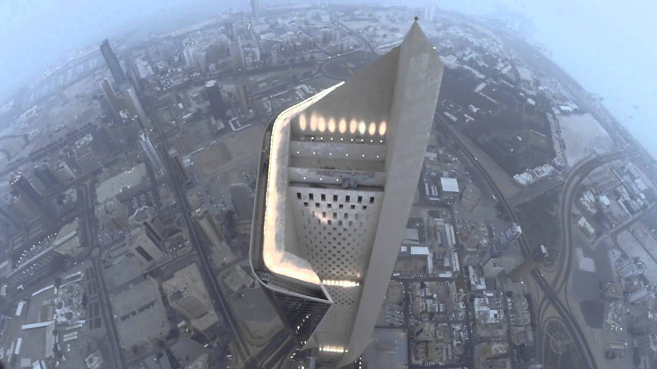 Top 3d Live Wallpaper Dji Phantom 2 Above Al Hamra Tower Youtube