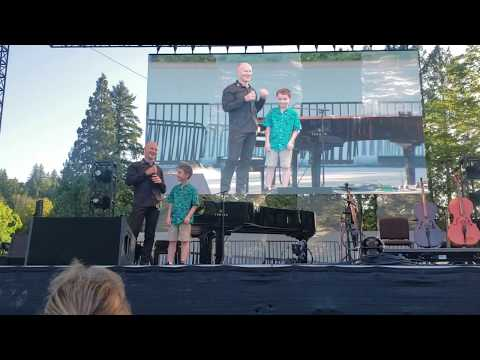 """Piano Guys """"Perfect"""" - 9-Year Old Opens the Concert - Portland, Oregon - 08/15/2019"""