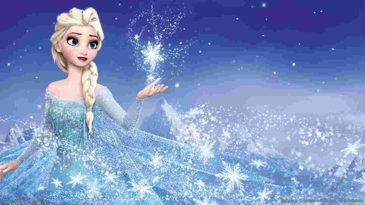 Elsa The Snow Queen (Disney Princess Elsa Dress Up Game) Swimming & Skating