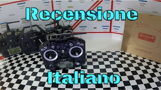 recensione taranis q x7 unboxing valutazione mod setting battery mod complete review