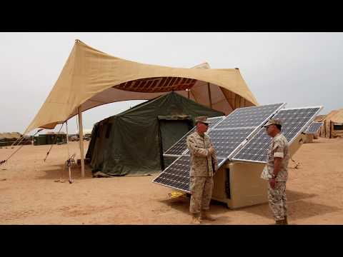 US Military Using Renewable Energy, Solar and Wind