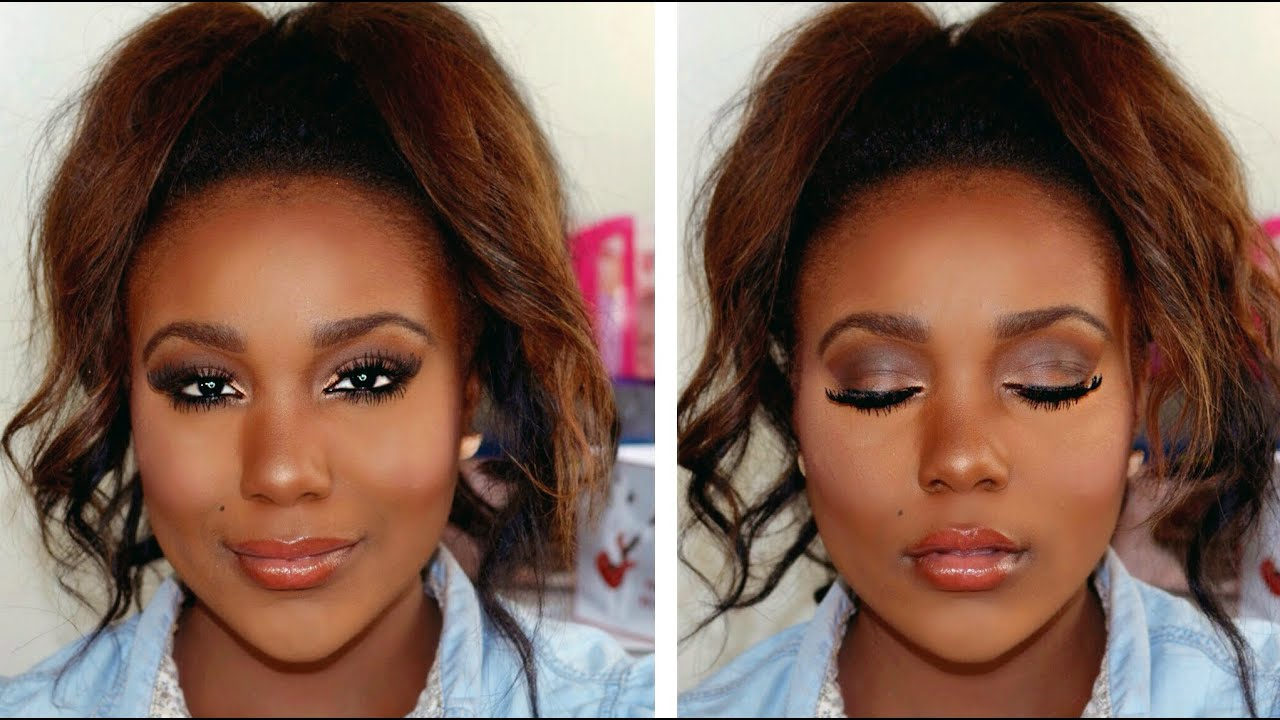 Makeup tutorial for brown eyes i new makeup forever ultra hd makeup tutorial for brown eyes i new makeup forever ultra hd foundation baditri Image collections