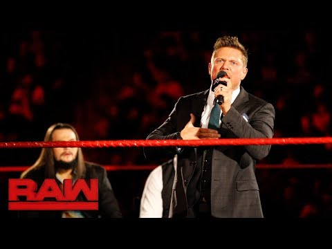 The Miz reveals his plans for 2018: Raw, Jan. 8, 2018