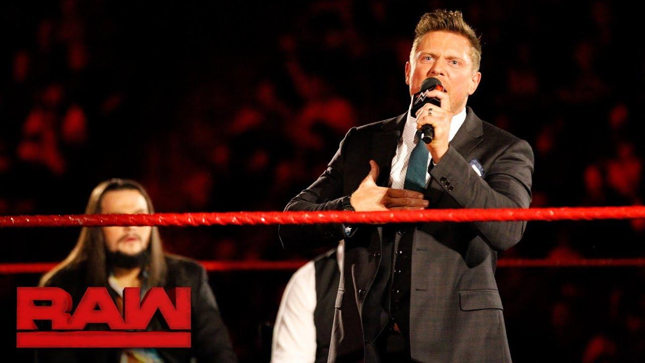The Miz Reveals His Plans For 2018 Raw Jan 8 2018 Youtube