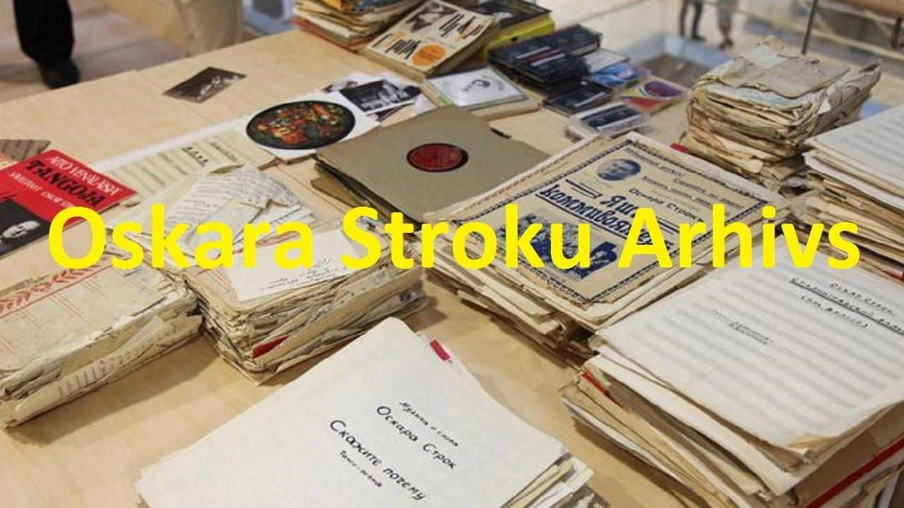 Oskara Stroku Arhivs - Radio Latv Val 08.2014