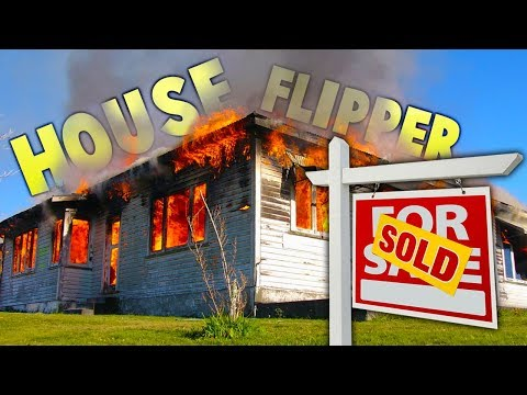Buying A Burnt Down House & Renovating - House Flipper