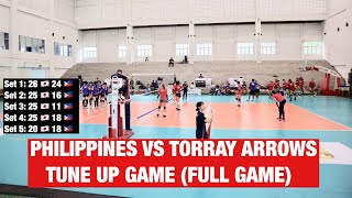 PHILIPPINE WOMENS VOLLEYBALL TEAM VS TORRAY ARROWS JAPAN FULL GAME