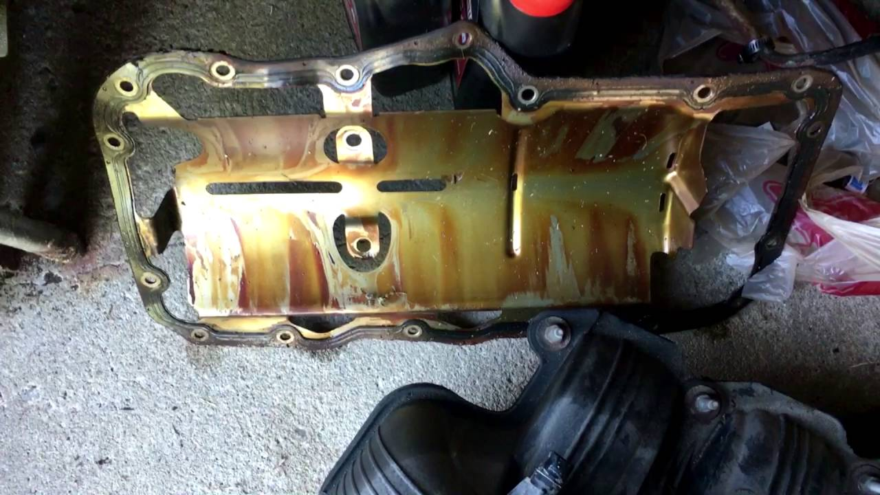 2004 Dodge Dakota Oil Pan V6 Youtube