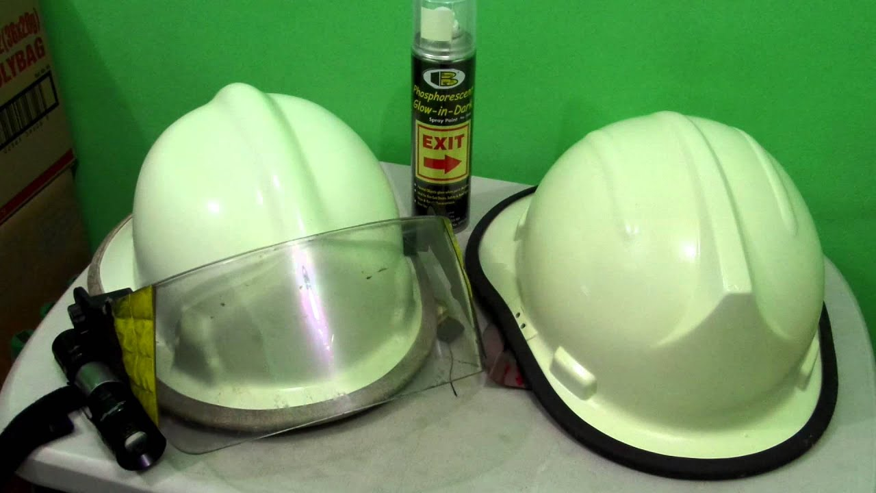 Bosny Glow in the Dark - Firemans Helmet - YouTube
