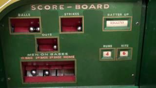 1937 Rockola World Series Baseball Arcade Game - part 1