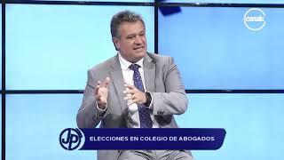 Alejandro Pérez Moreno: Elecciones en el Colegio de Abogados