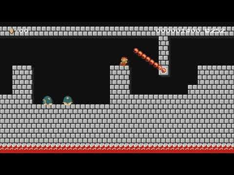 Castle Inferno 4 by Matt S - Super Mario Maker - No Commentary