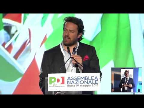 Assemblea PD - Intervento di Mattia Mor