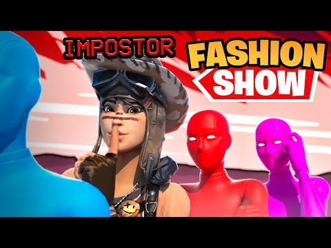 STREAM SNIPING FASHION SHOWS WITH AMONG US CHARACTERS! (we won)