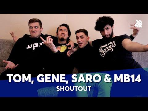 TOM THUM, GENE, SARO & MB14 | Beatbox Is Music