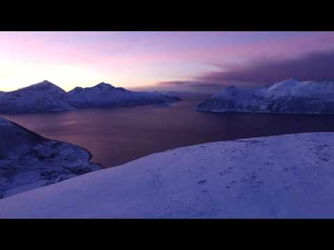 4K drone footage from Troms, Northern Norway