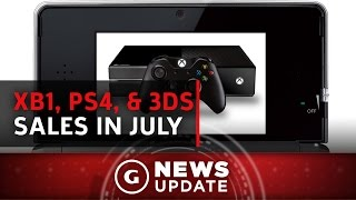 Xbox One Topped PS4 in July, But 3DS Beat Them Both - GS News Update