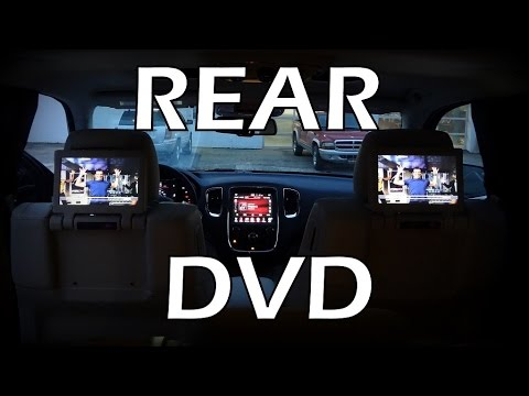 2015 Rear Dvd Blu Ray Compatible Dual Screen Video In