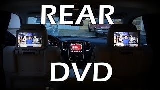Video 2015 Rear DVD Blu-Ray Compatible Dual Screen Video in Dodge Durango download MP3, 3GP, MP4, WEBM, AVI, FLV Agustus 2017