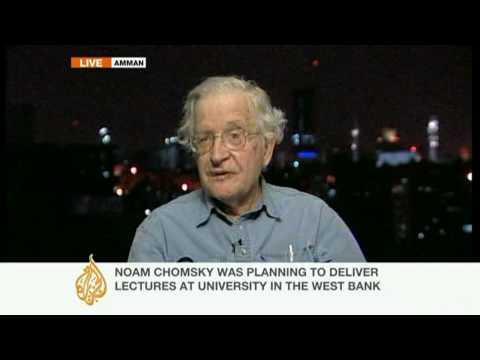"Chomsky: ""We were denied entry"""