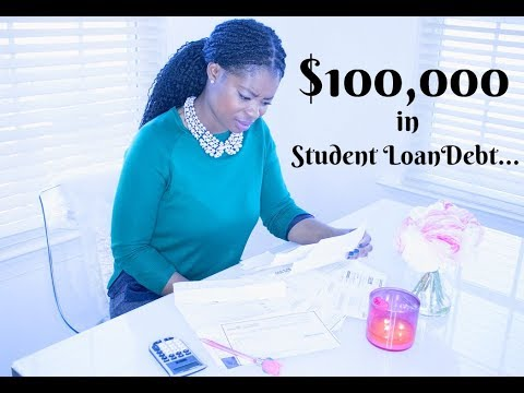$100,000 IN STUDENT LOAN DEBT: LOAN REPAYMENT | NURSE LADA