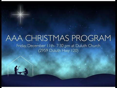 Atlanta Adventist Academy | Christmas Program 2015